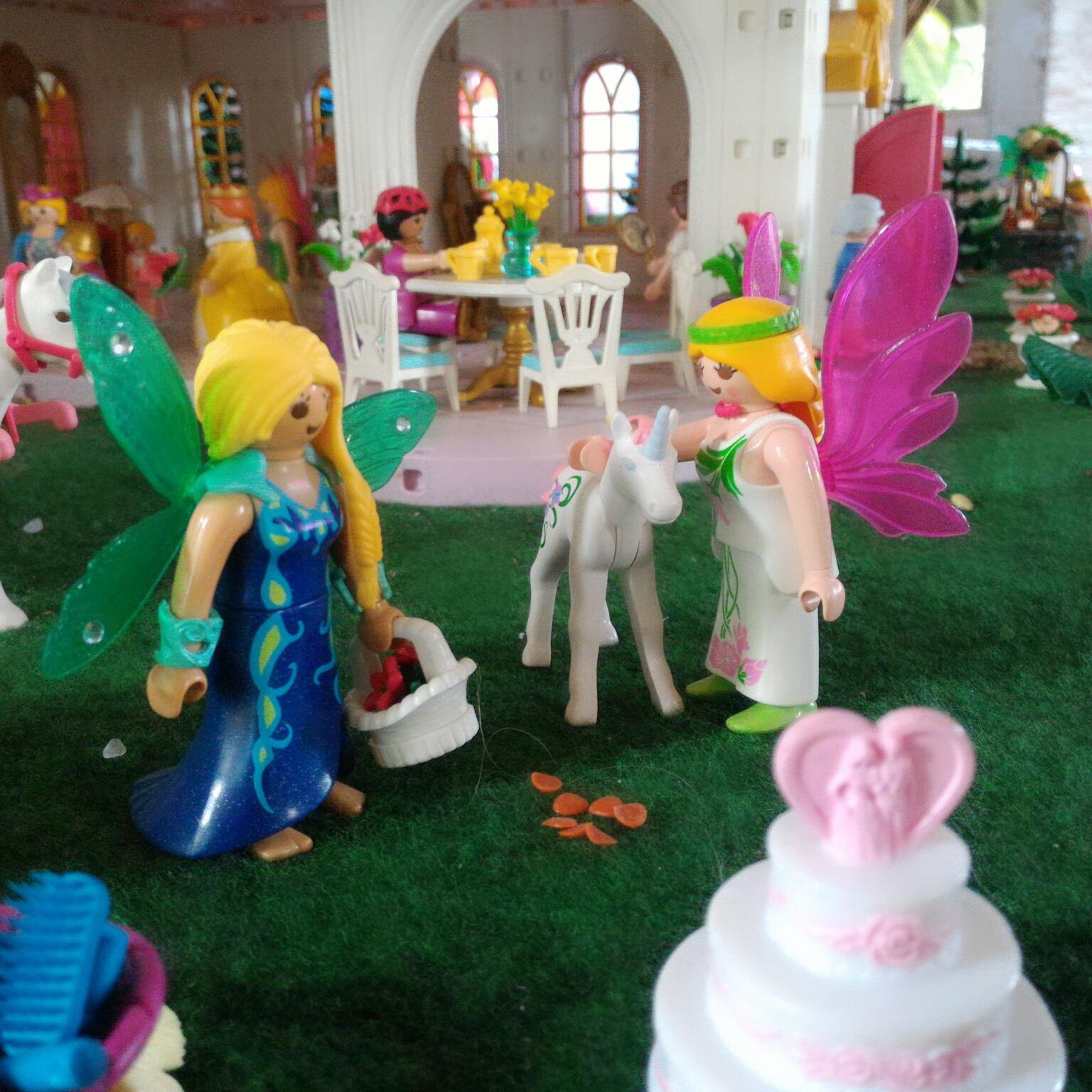 Les princesses et les fées Playmobil