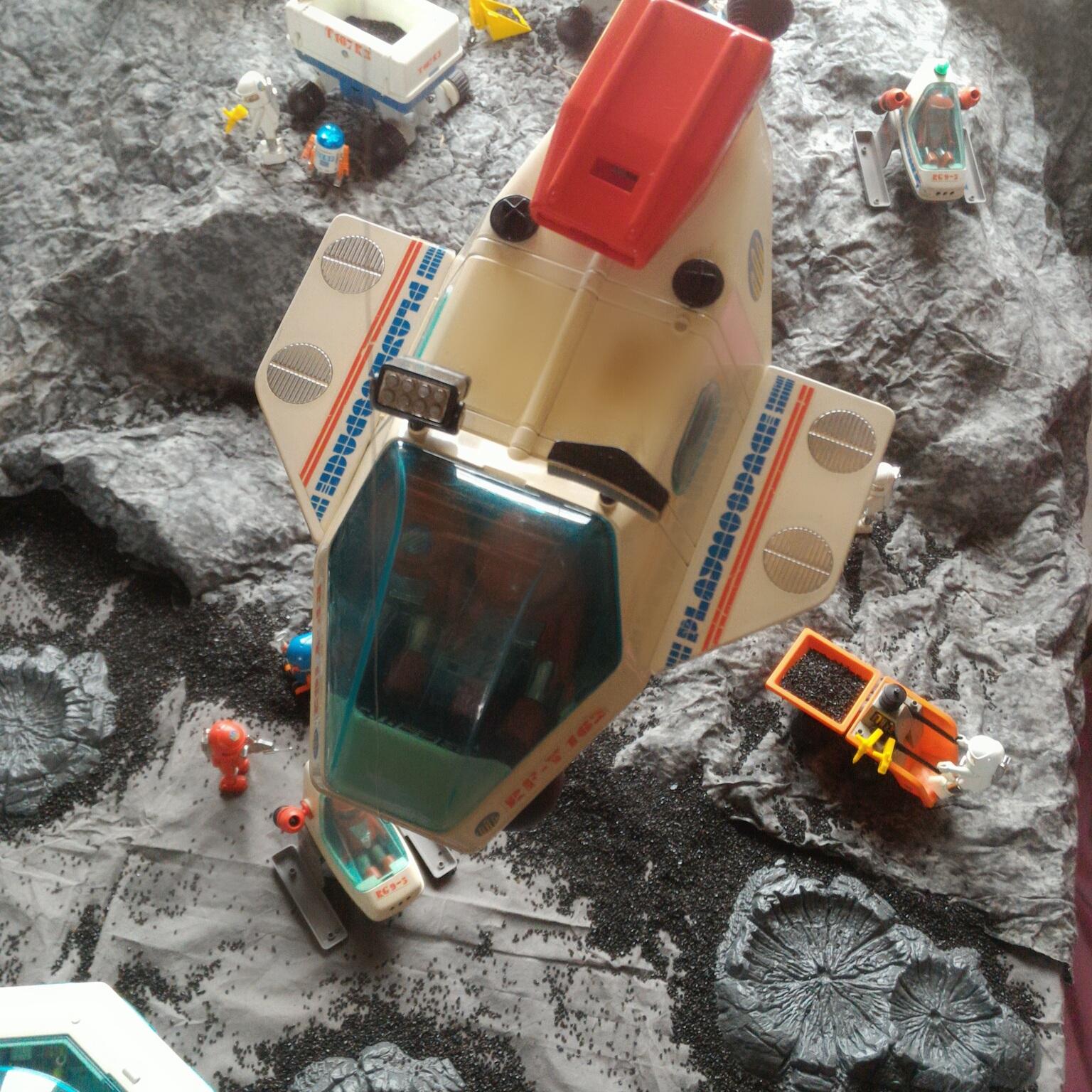 Les Playmospace de chez Playmobil, lancés dans les années 80