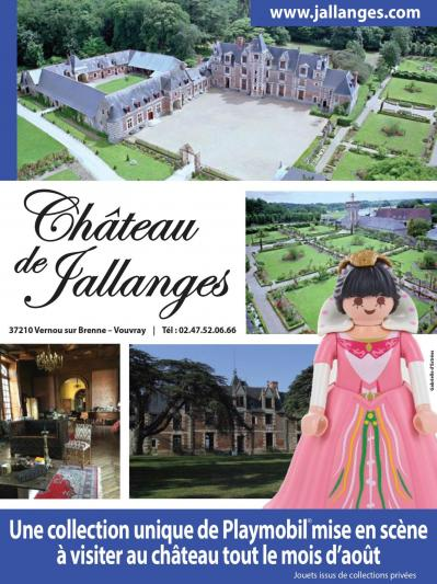 dominique bethune collectionneur de playmobil expose au chateau de jallanges