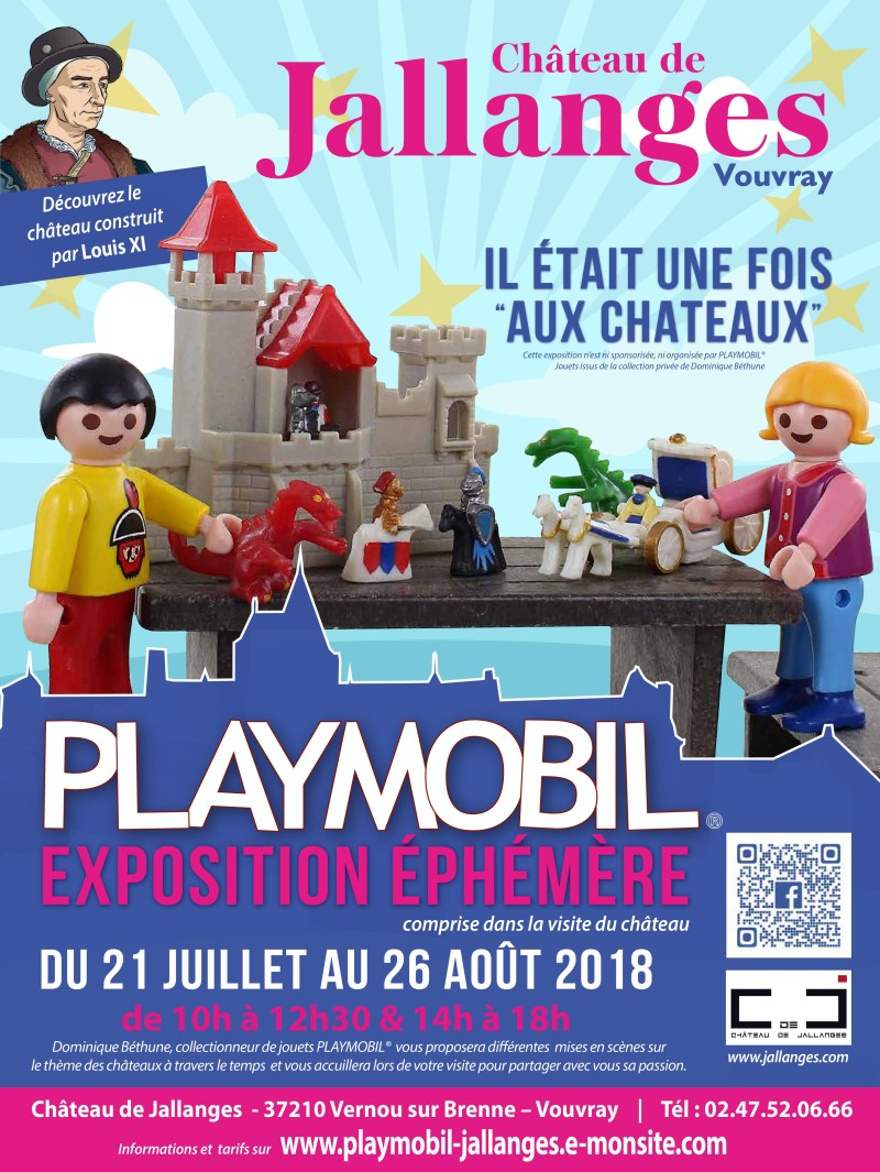 Exposition playmobil chateau de jallanges ete 2018 dominique bethune web
