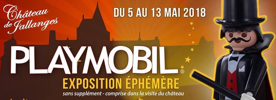 Exposition playmobil chateau de jallanges mai 2018